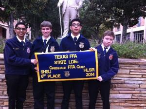 FFA Quiz Team