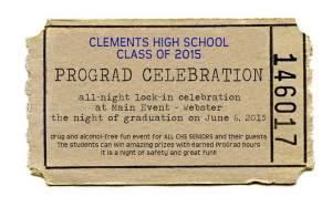 Pro Grad Ticket Sales